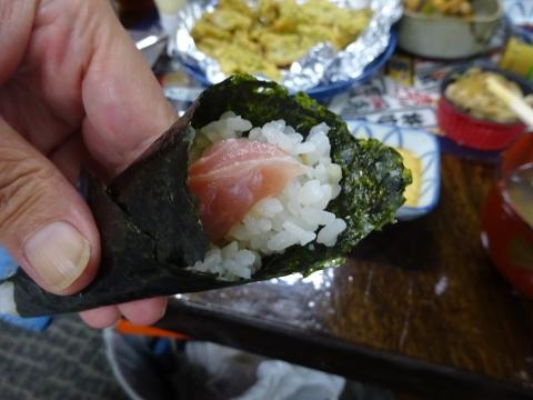 「手巻き寿司パーティーをやりました。」⑪
