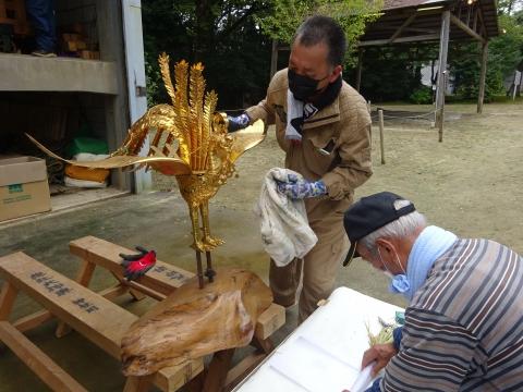 「常陸國總社宮例大祭の大神輿が寂しそうでした。」 (4)