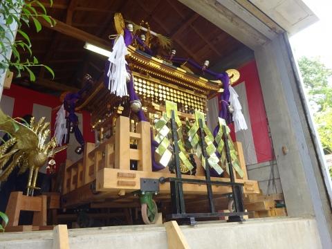 「常陸國總社宮例大祭の大神輿が寂しそうでした。」 (12)