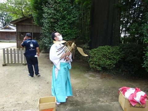 「常陸國總社宮例大祭の大神輿が寂しそうでした。」 (7)