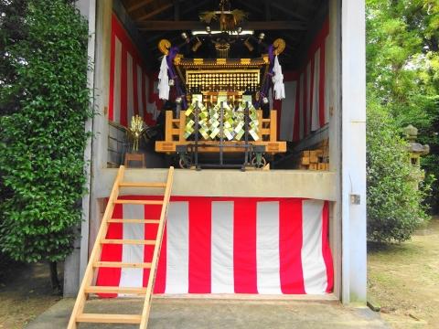 「常陸國總社宮例大祭の大神輿が寂しそうでした。」 (13)