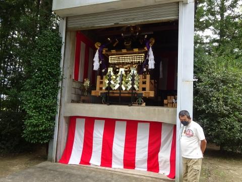 「常陸國總社宮例大祭の大神輿が寂しそうでした。」 (14)