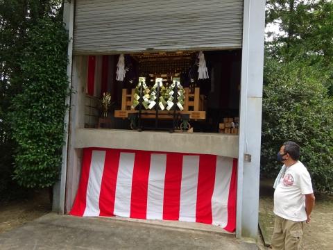 「常陸國總社宮例大祭の大神輿が寂しそうでした。」 (15)