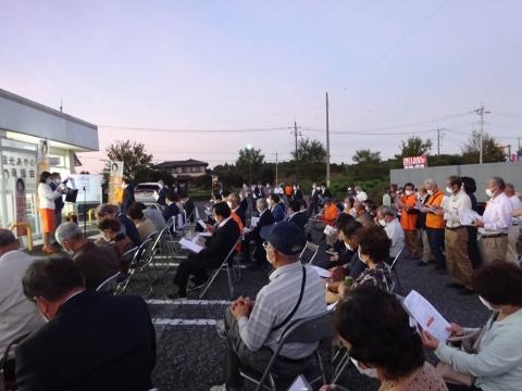 「国光あやの」必勝祈願式典、並びに「石岡後援会事務所開所式」⑬