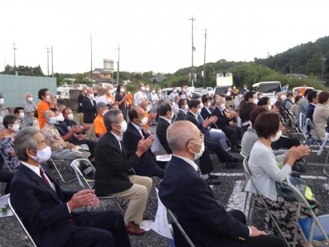 「国光あやの」必勝祈願式典、並びに「石岡後援会事務所開所式」⑫