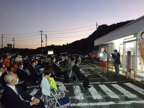 「国光あやの」必勝祈願式典、並びに「石岡後援会事務所開所式」⑭