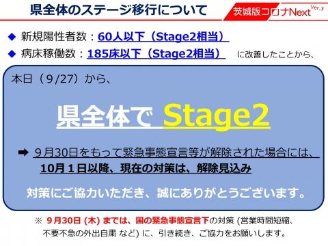 令和3年9月27日「コロナStage2に引下げ(10月1日以降の対応)_000001