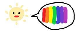 会社員の多肉植物葉(よう) 太陽の持つ色